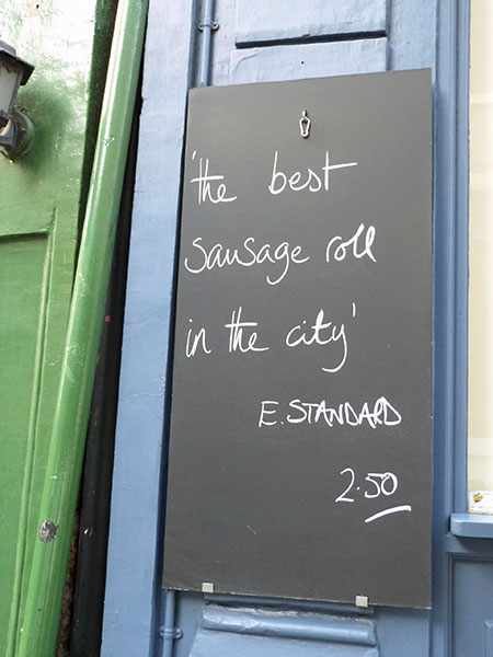 the best sausage roll