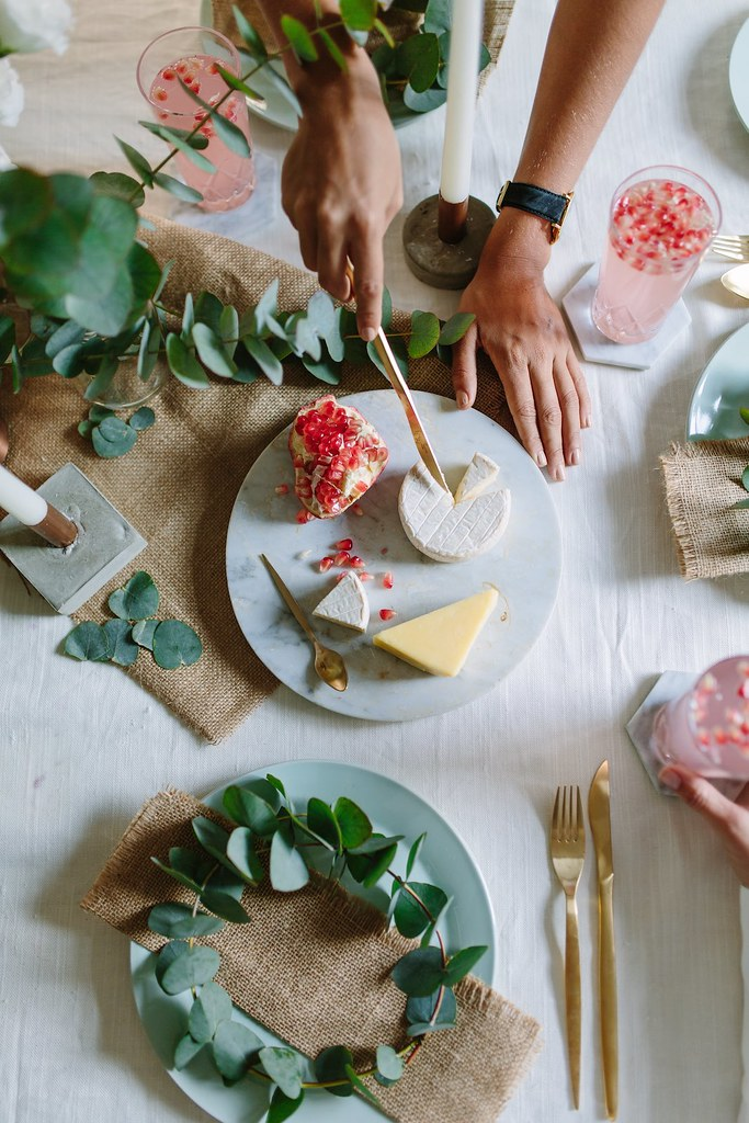 How To Create A Quick Eucalyptus Table Setting A Pair