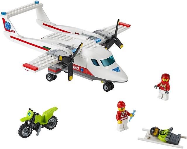 LEGO City 2016: 60116 - Ambulance Plane