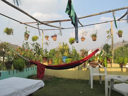 Pushkar: toit de notre guesthouse