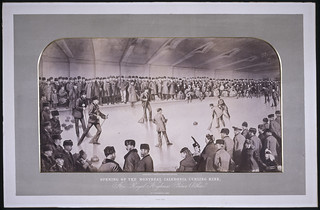 Opening of the Montreal Caledonia Curling Rink by His Highness Prince Arthur / Inauguration de la piste de curling Montreal Caledonia par Son Altesse le prince Arthur (Montréal, Québec)
