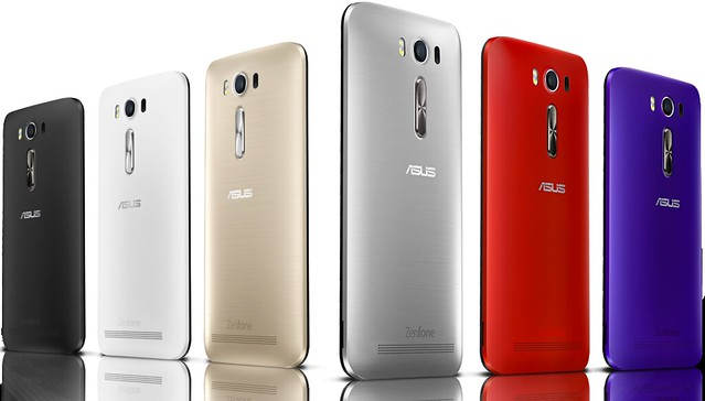 Zenfone 2 Laser Colors