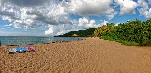 panorama plage guadeloupe deshaies glp