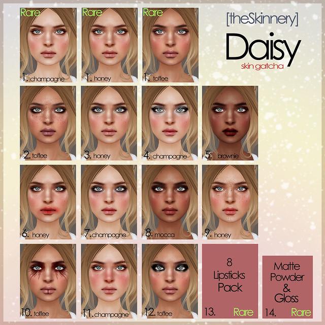 [theSkinnery] Daisy key @ Arcade