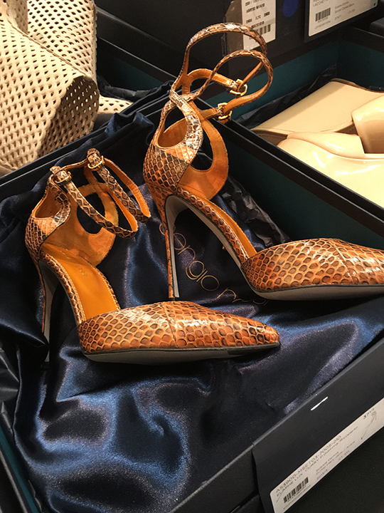 0d0c0d8fd9b5b Italian luxury footwear brand Sergio Rossi joins this fall's ever-growing  designer shoe sample sale lineup with the kickoff of their sale in Chelsea  this ...