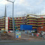 New student flat development in Preston