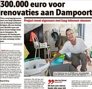 lancering Dampoort Knapt op
