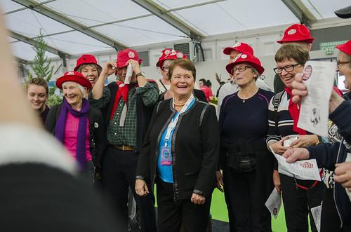 Gro Harlem Brundtland og Bestefoeldrenes klimaaksjon