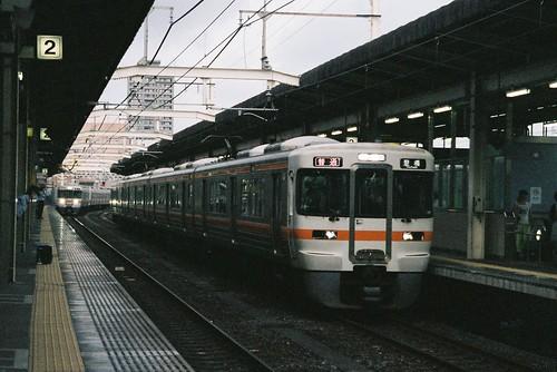 浜松駅にて313系