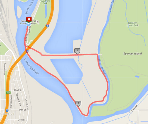 """Today""""s awesome walk, 2.77 miles in 50 minutes, 5,952 steps"""