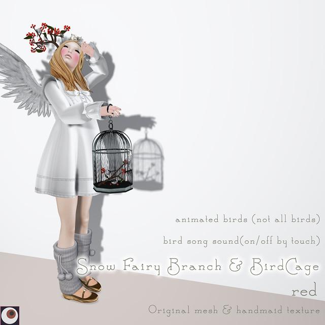 Snow Fairy Red AD