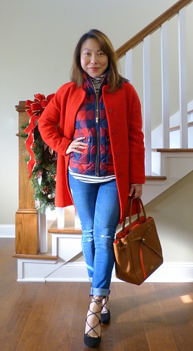 buffalo plaid + stripes