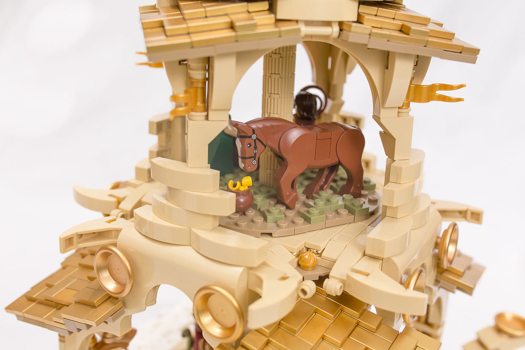 [BuildtheBrick #2]: Weihnachtspyramide 23579177920_4aaf04d85a_b