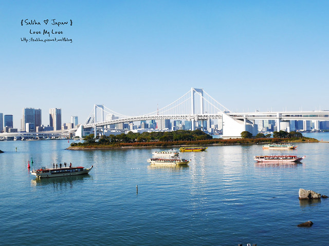 台場一日遊台場海濱公園夜景百貨公司必看 (13)