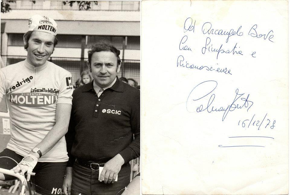 Bove con Merckx (1978)
