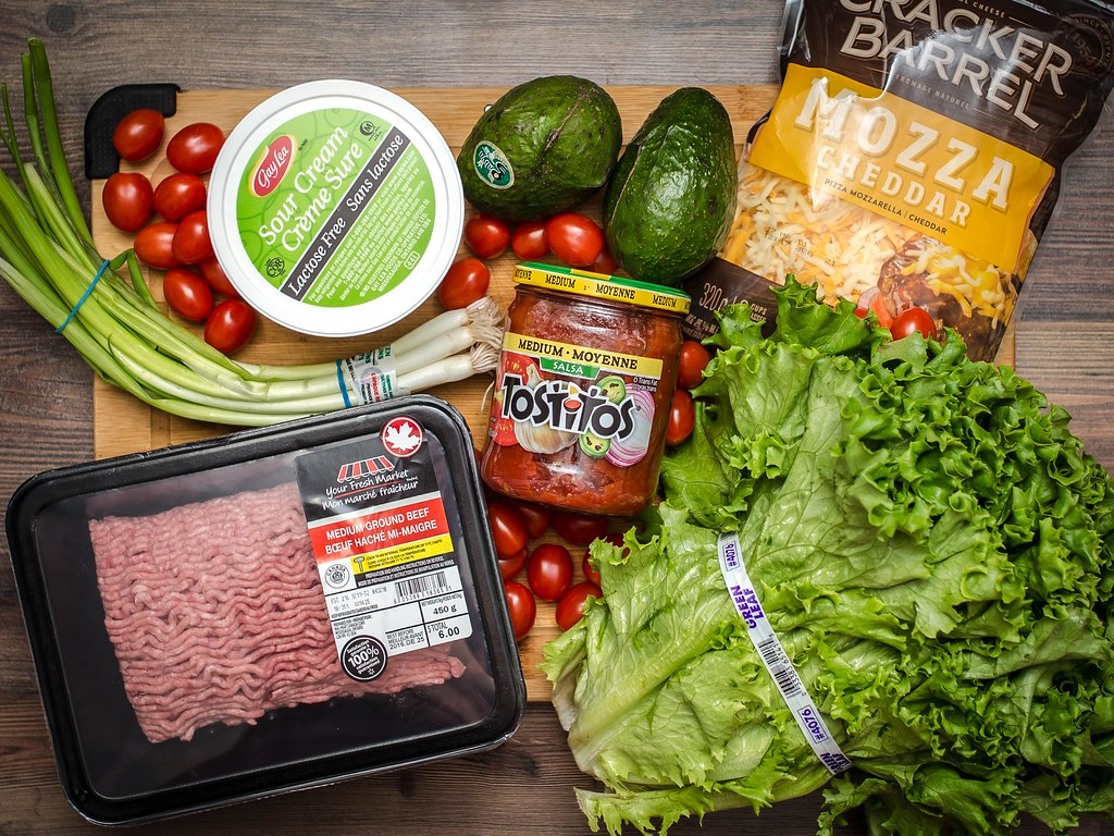Taco Night with Walmart.ca Grocery Pick-Up