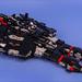 Black Spaceship 1 by timofey_tkachev