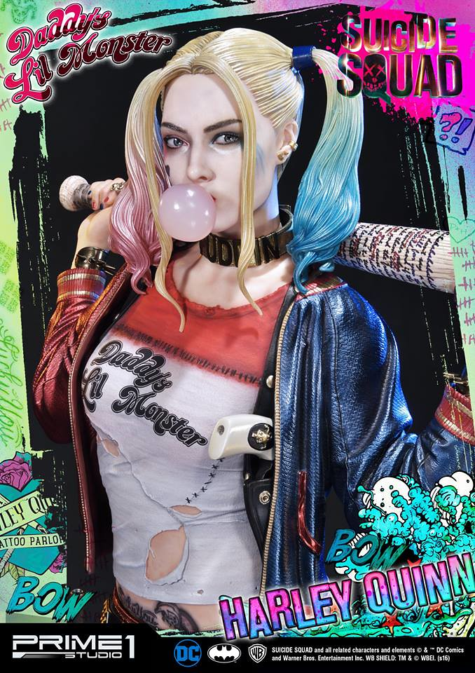 Prime 1 Studio 自殺突擊隊【小丑女哈莉.奎茵】Suicide Squad Harley Quinn 1/3 比例全身雕像作品 MMSS-01