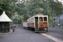 IM Isle of Man - Manx Electric Railway - MER 19 Laxey Station - May 1971