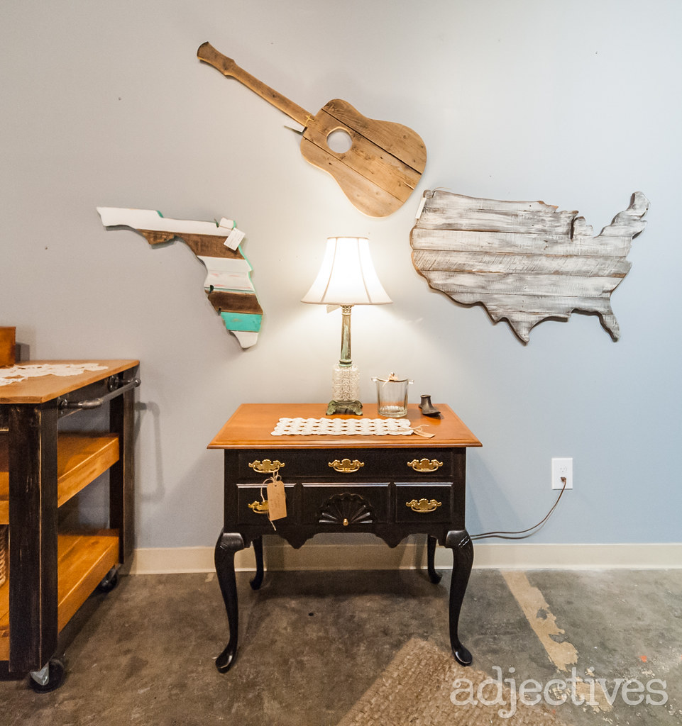 Adjectives Featured Find in Altamonte by Gloira Marwick, Reclaimed Forest and The Front Porch