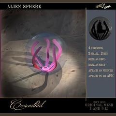 Lilith's Den Cerianthid Alien Sphere