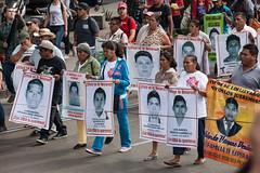 XV Acción Global por Ayotzinapa