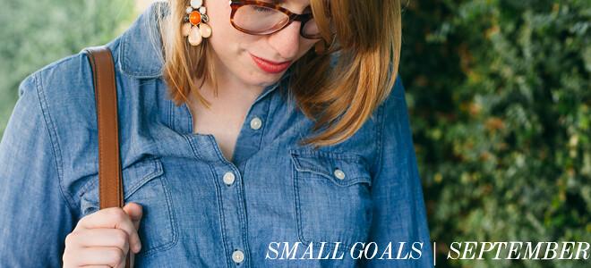 small goals september
