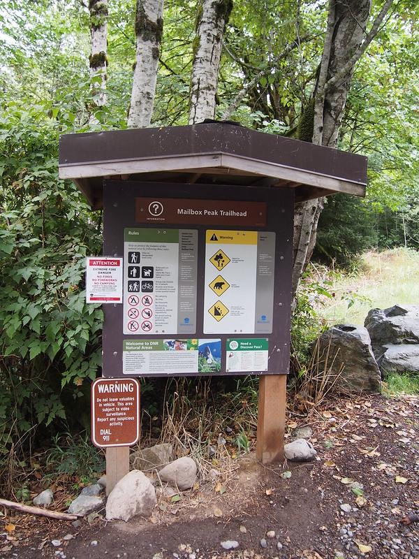 Mailbox Peak Trailhead