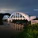 Tha Chomphu bridge, Lamphun, Thailand.