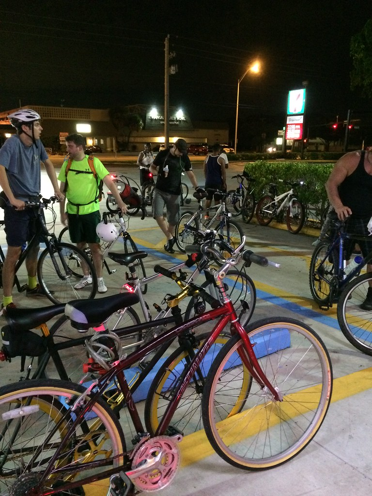 Bicihangeo ride Fort Lauderdale Aug 26 2015
