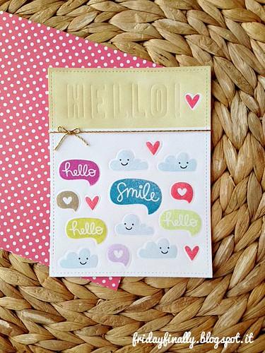 hello! Emboss please! LF card