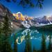 Moraine Lake - Banff National Park - 7-06-12  02c by Tucapel