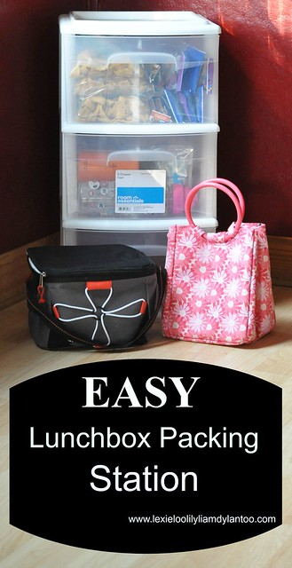 Easy Lunchbox Packing Station