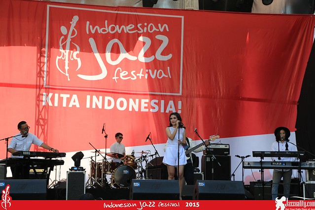 Indonesian Jazz Festival 2015 - Storia(1)