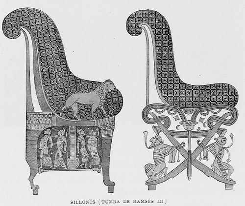 """""""Sillones (Tumba de Ramsés III)"""