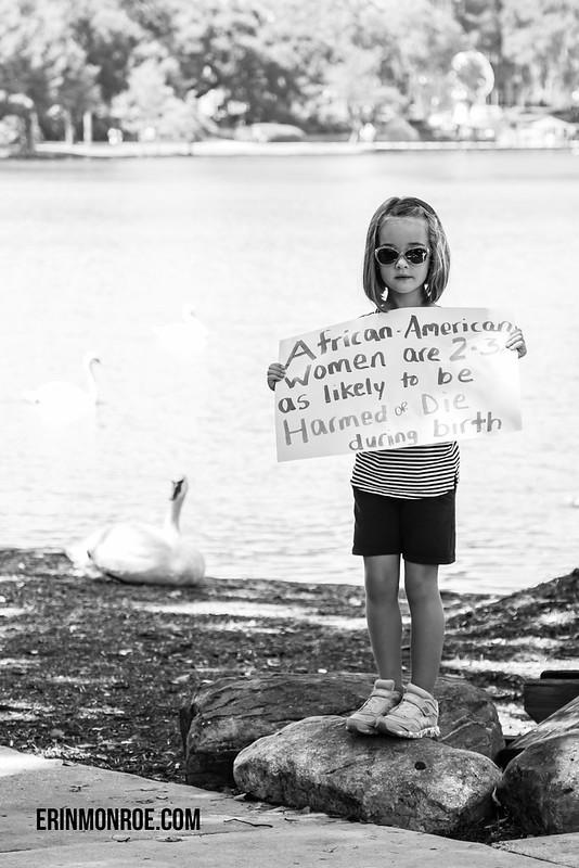 ImprovingBirth.org rally 2015- Lake Eola Orlando, FL