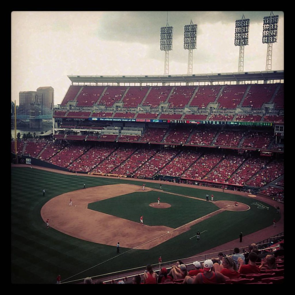 #Reds game number 41 of the season at #GABP with @genmae5!