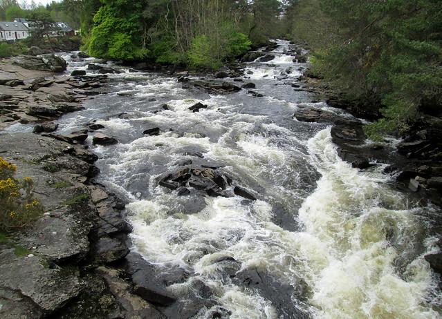 Falls of Dochart (vii)