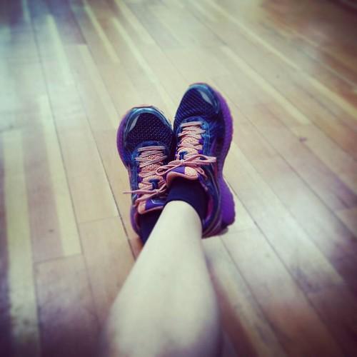 OK beentjes. Gedaan met regenen, zullen we ons eens wagen aan een intervaltraining? #running #runstagram #run #interval