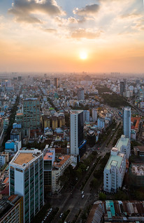 Saigon from Bitexco Financial Tower