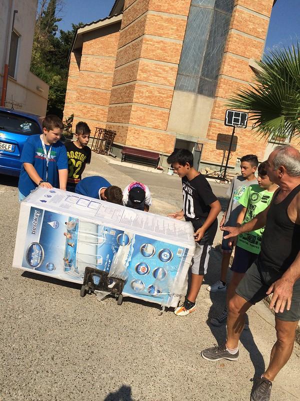 Casamassima-I ragazzi del Semiconvitto Pia Domuns Cristo Re raccontano la gioia per la nuova piscina (8)