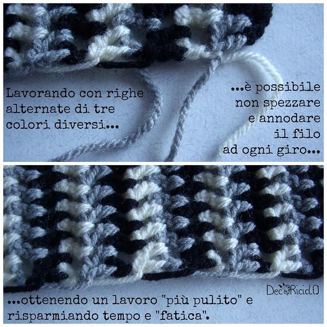 mantella coprispalle grigio-bianco-nero 4