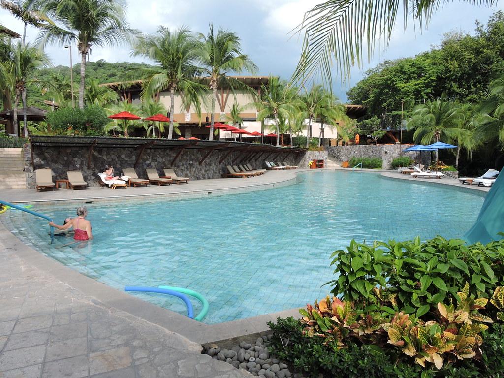 One of three pools at at the Four Seasons Costa Rica Golf Club at Peninsula Papagayo