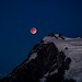 Blood Moon off Mount Shuksan by ♞Jenny♞