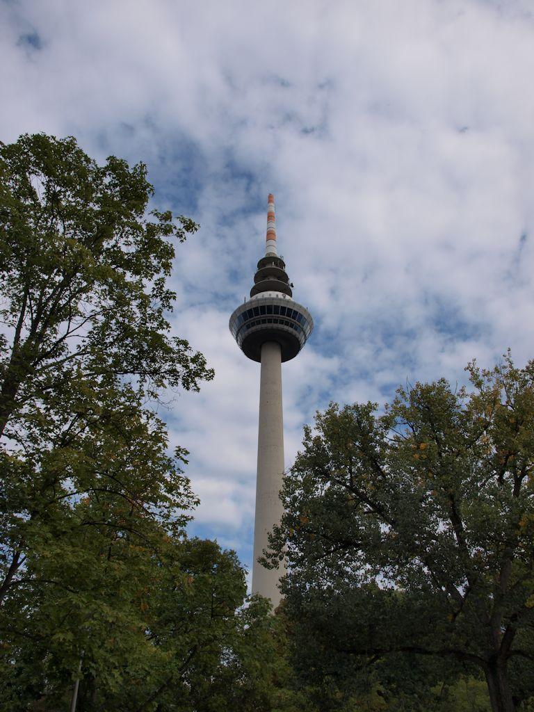 Luisenpark Mannheim: Fernsehturm