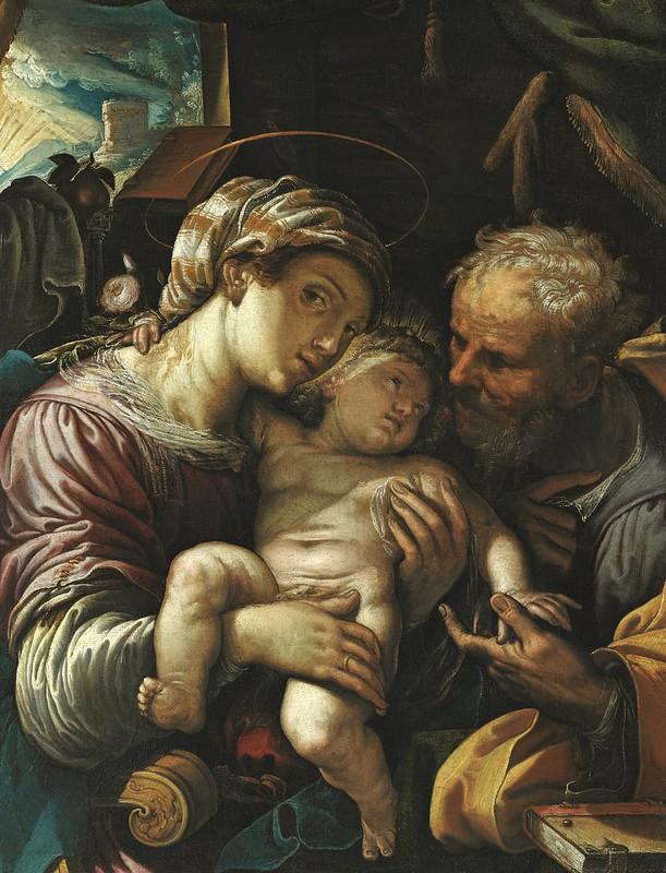 Ferraù Fenzoni - Holy Family
