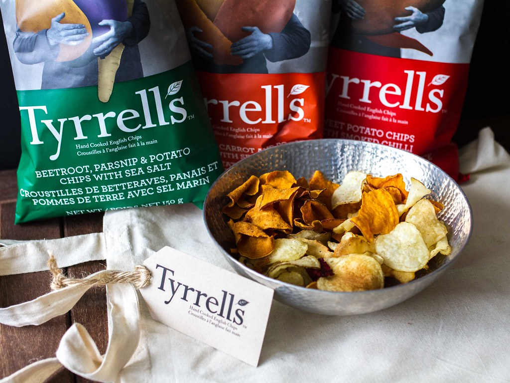 Tyrrells Exceedingly English Crisps