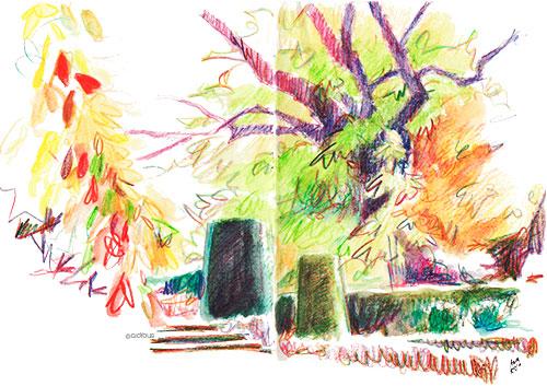 El Botánico en otoño