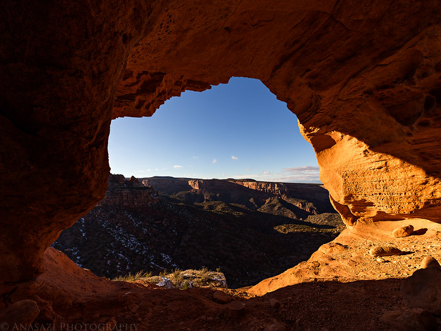 Windowpane Arch