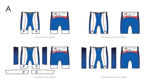 三鐵褲A版樣式